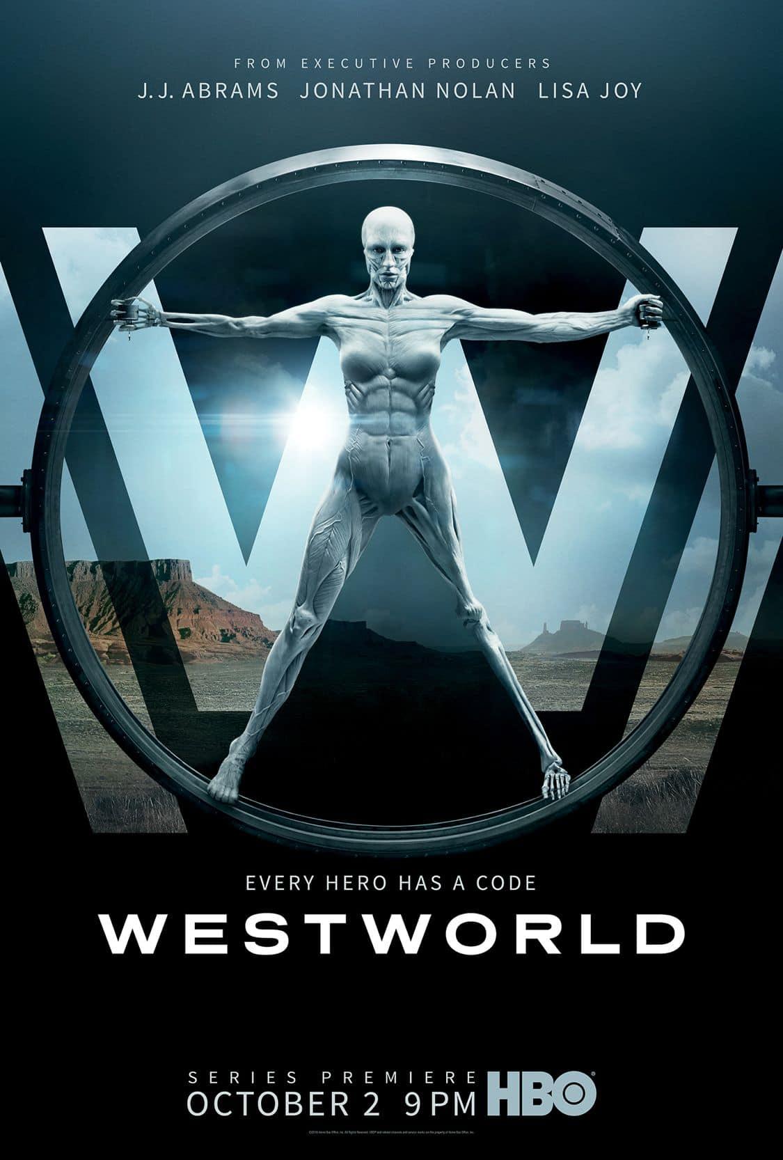 WESTWORLD Season 1 Poster Key Art HBO