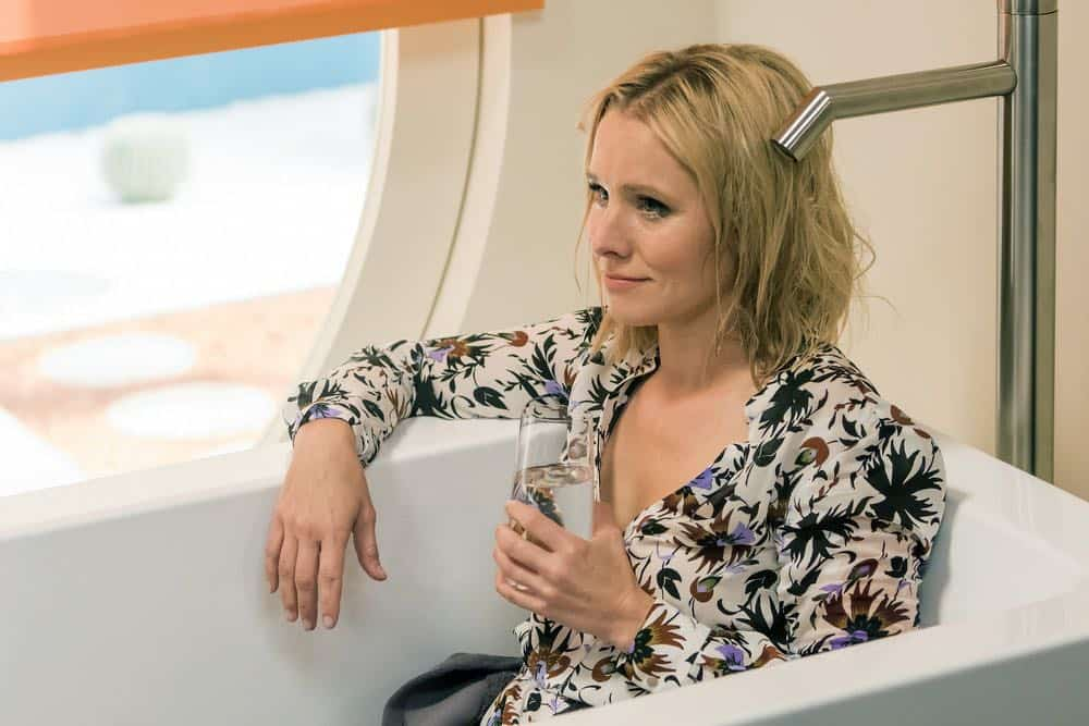 """THE GOOD PLACE -- """"...Someone Like Me as a Member"""" -- Pictured: Kristen Bell as Eleanor -- (Photo by: Ron Batzdorff/NBC)"""
