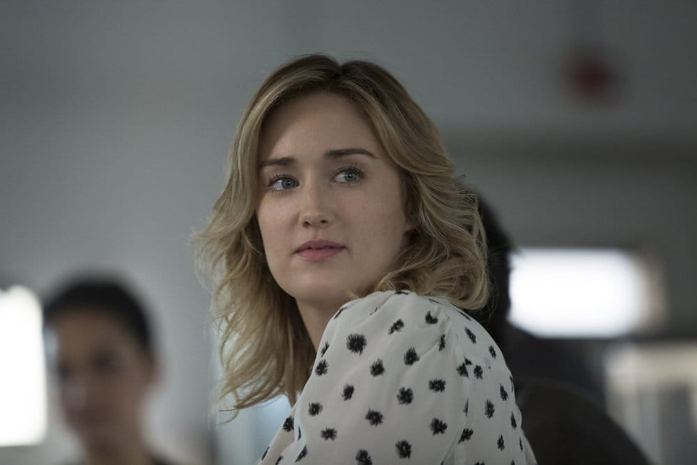 "BLINDSPOT -- ""Do Not Slack, the Featherweight Wins"" Episode 208 -- Pictured: Ashley Johnson as Patterson -- (Photo by: Eric Liebowitz/Warner Bros/NBC)"