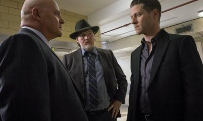 "Michael Chiklis, Donal Logue and Ben McKenzie in the ""Mad City: Red Queen"" episode of GOTHAM"