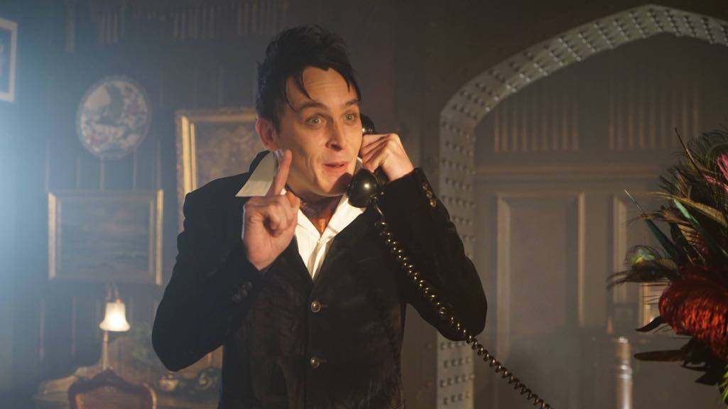 "GOTHAM: Robin Lord Taylor in the ""Mad City: Red Queen"" episode of GOTHAM airing Monday, Oct. 31 (8:00-9:01 PM ET/PT) on FOX. ©2016 Fox Broadcasting Co. Cr: Nicole Rivelli/FOX."