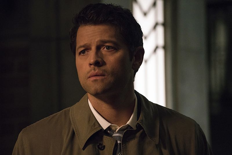 """Supernatural -- """"The Foundry"""" -- SN1203b_0019.jpg -- Pictured: Misha Collins as Castiel -- Photo: Katie Yu/The CW -- © 2016 The CW Network, LLC. All Rights Reserved"""
