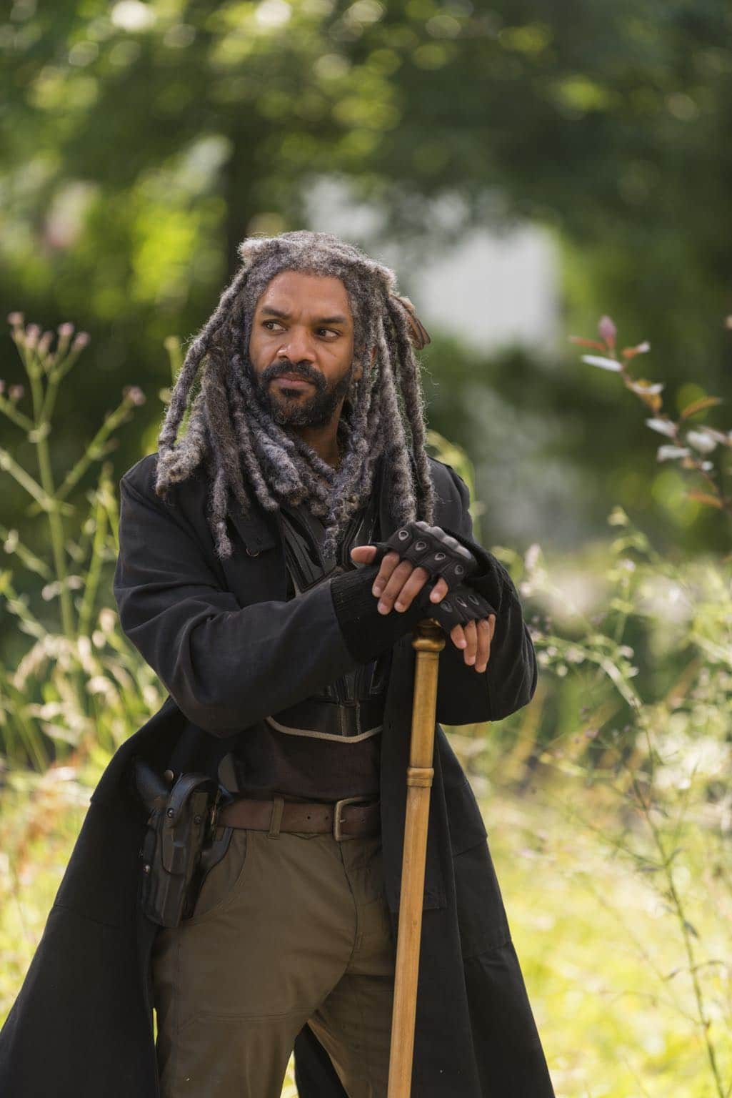 Khary Payton as Ezekiel - The Walking Dead _ Season 7, Episode 2 - Photo Credit: Gene Page/AMC