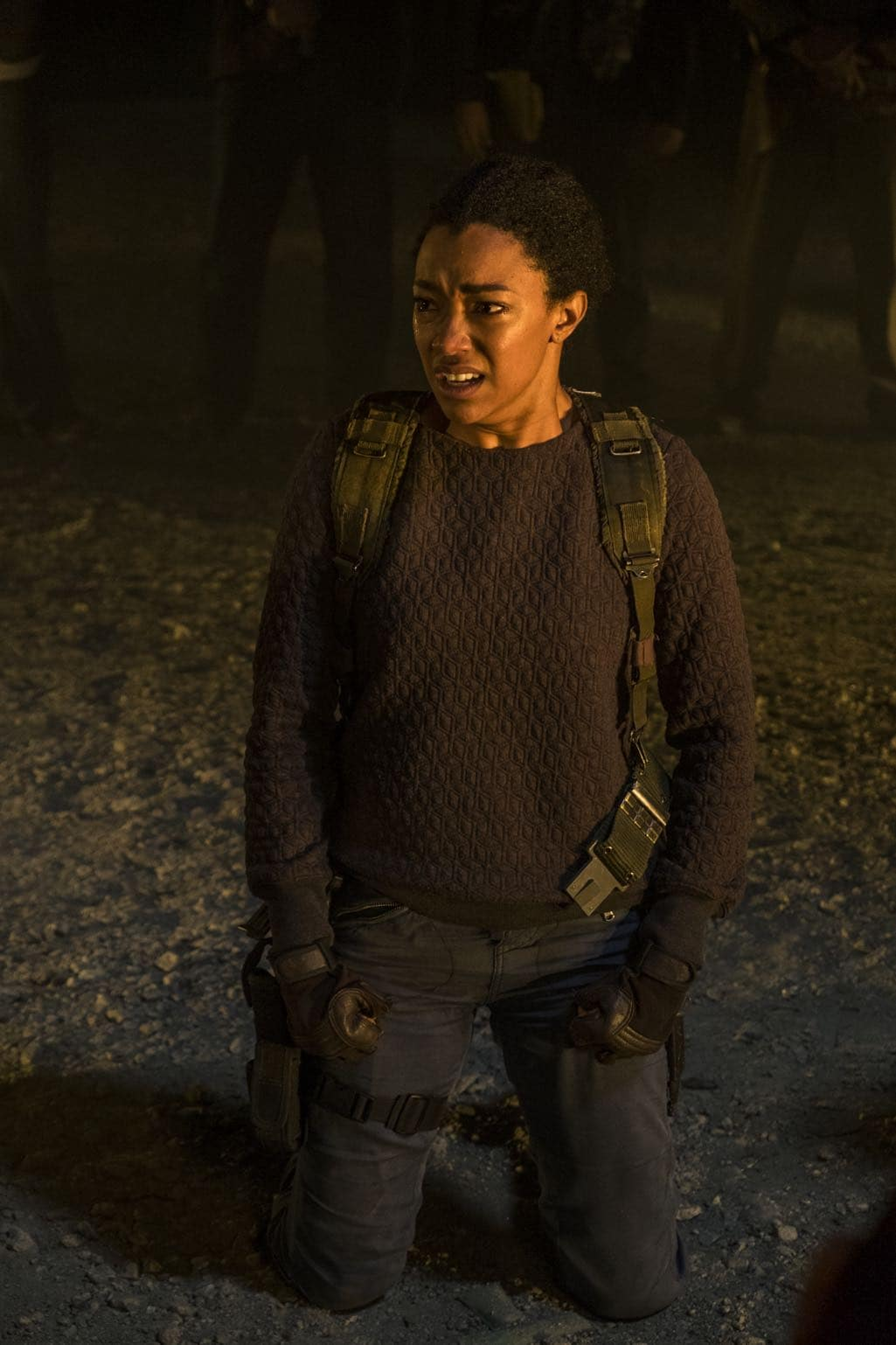 >>> NOT TO BE USED UNTIL 10/24/16 at 1:00 AM EST <<< Sonequa Martin-Green as Sasha Williams - The Walking Dead _ Season 7, Episode 1 - Photo Credit: Gene Page/AMC