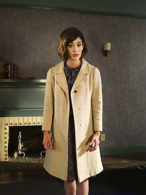 Lizzy Caplan as Virginia Johnson in Masters of Sex (season 4, episode 7) - Photo: Warren Feldman/SHOWTIME - Photo ID: MastersofSex_407_0495