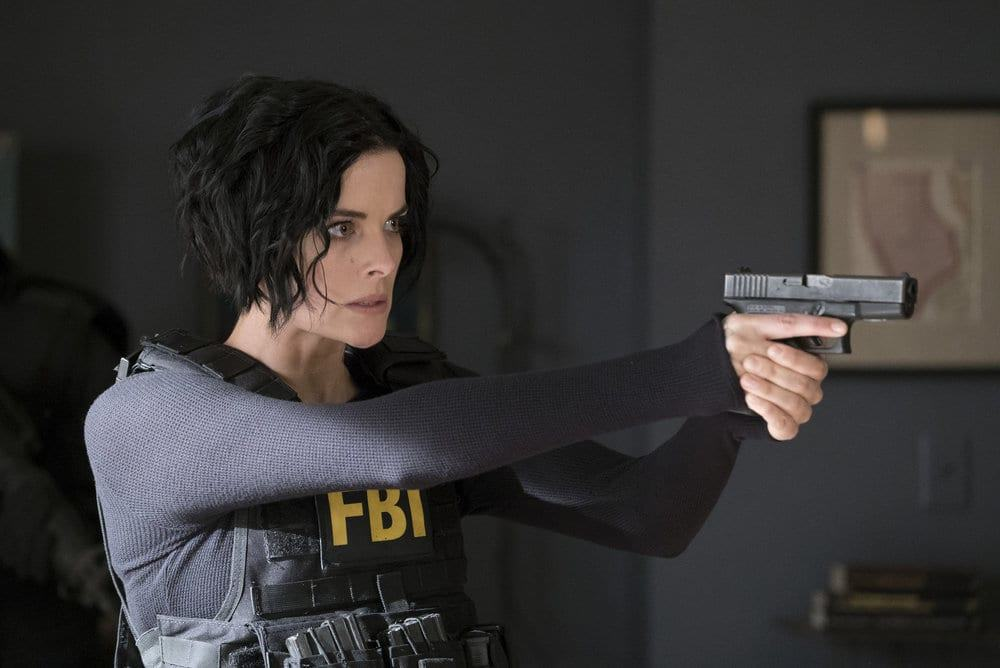 "BLINDSPOT -- ""Resolves Eleven Myths"" Episode 207 -- Pictured: Jaimie Alexander as Jane Doe -- (Photo by: Virginia Sherwood/NBC)"