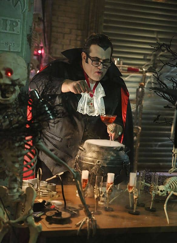 """Bat Poop Crazy"" -- Before Halloween, Team Scorpion must infiltrate a deep, vast cave system in order to prevent a bat population from destroying the North America ecosystem. Also, the team dons costumes to stage photos from Halloween's past for Walter's upcoming immigration inspection, on SCORPION, Monday, Oct. 31 (10:00-11:00 PM, ET/PT), on the CBS Television Network. Pictured: Ari Stidham Photo: Michael Yarish/CBS ©2016 CBS Broadcasting, Inc. All Rights Reserved"