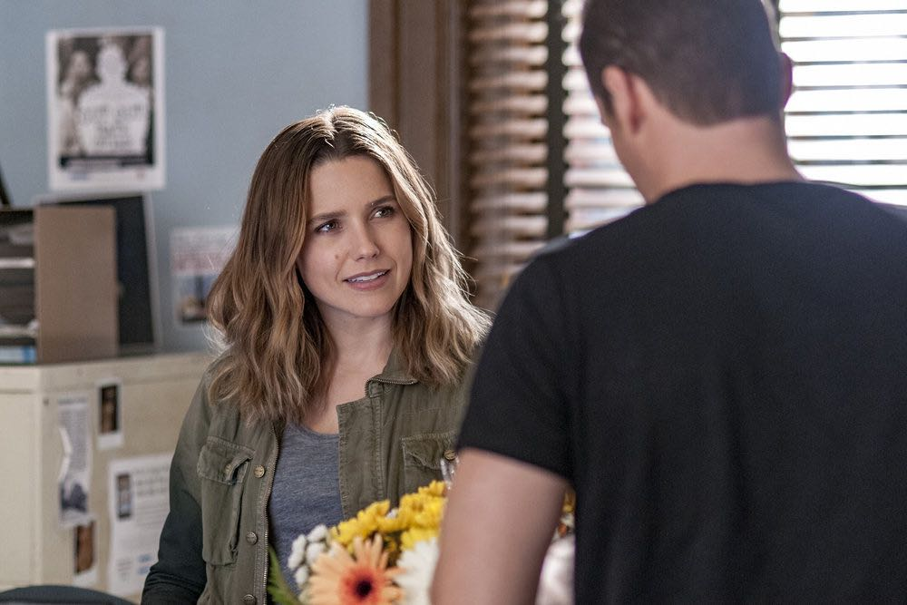 "CHICAGO P.D. -- ""Skin in the Game"" Episode 406 -- Pictured: Sophia Bush as Erin Lindsay -- (Photo by: Matt Dinerstein/NBC)"