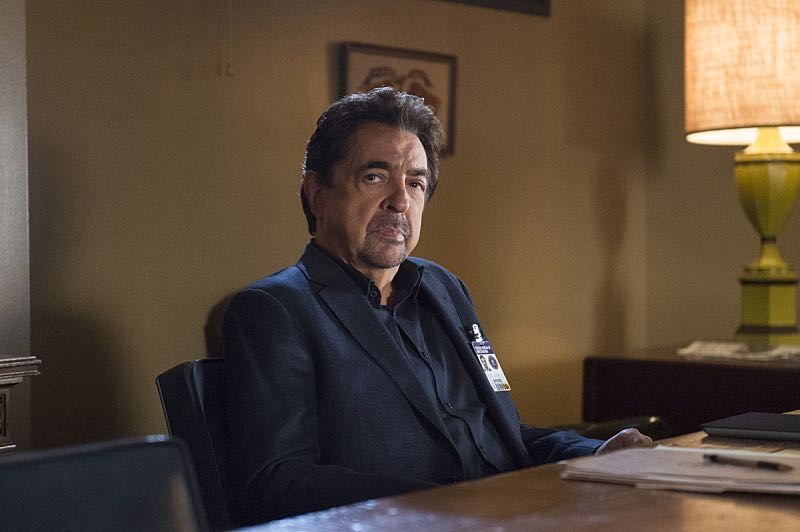 """""""The Anti-Terrorism Squad"""" -- The BAU uses social media to discover an even bigger motive when two high school students survive both of their families deaths in Minnesota, on CRIMINAL MINDS, Wednesday, Nov. 2 (9:00-10:00 PM, ET/PT), on the CBS Television Network. Pictured: Joe Mantegna (David Rossi) Photo: Neil Jacobs/CBS ©2016 CBS Broadcasting, Inc. All Rights Reserved"""