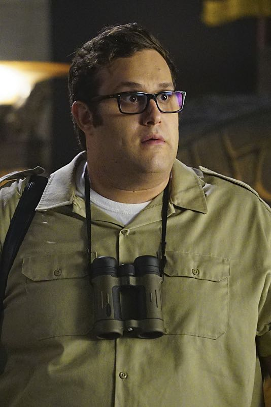 """""""Plight at the Museum"""" -- Team Scorpion's simple job at the Los Angeles Natural History Museum turns deadly when they discover thieves robbing a rare gem exhibit in order to get materials needed to enrich a nuclear bomb, on SCORPION, Monday, Oct. 24 (10:00-11:00 PM, ET/PT), on the CBS Television Network. Pictured: Ari Stidham. Photo: Sonja Flemming/CBS ©2016 CBS Broadcasting, Inc. All Rights Reserved"""
