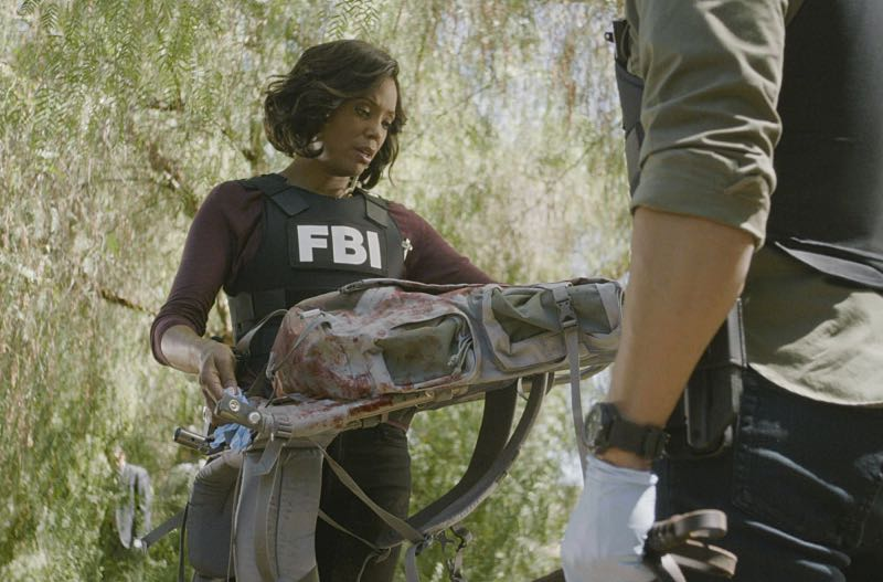 """Keeper"" -- The BAU team searches for a serial killer along the Appalachian Trail in rural Virginia, on CRIMINAL MINDS, Wednesday, Oct. 26 (9:00-10:00 PM, ET/PT), on the CBS Television Network. Pictured: Aisha Tyler (Dr. Tara Lewis) Photo: CBS ©2016 CBS Broadcasting, Inc. All Rights Reserved"