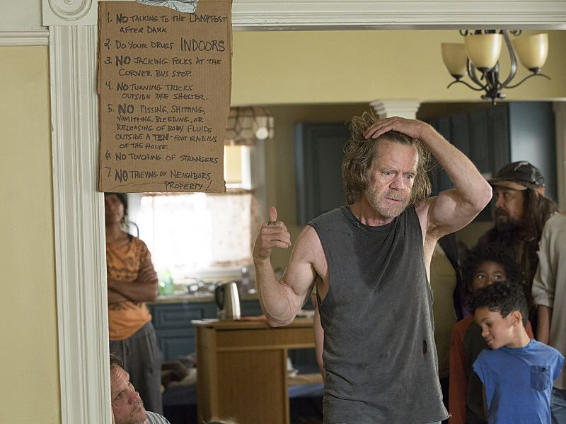 William H. Macy as Frank Gallagher in Shameless (Season 7, episode 4) - Photo: Cliff Lipson/SHOWTIME - Photo ID: shameless_704_2301