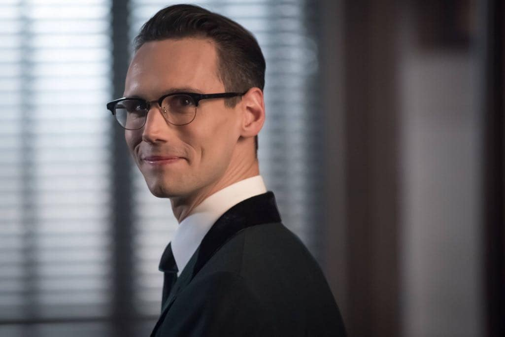 "GOTHAM: Cory Michael Smith in the""Mad City: Anything For You"" episode of GOTHAM airing Monday, Oct. 17 (8:00-9:01 PM ET/PT) on FOX. ©2016 Fox Broadcasting Co. Cr: Jeff Neumann/FOX."