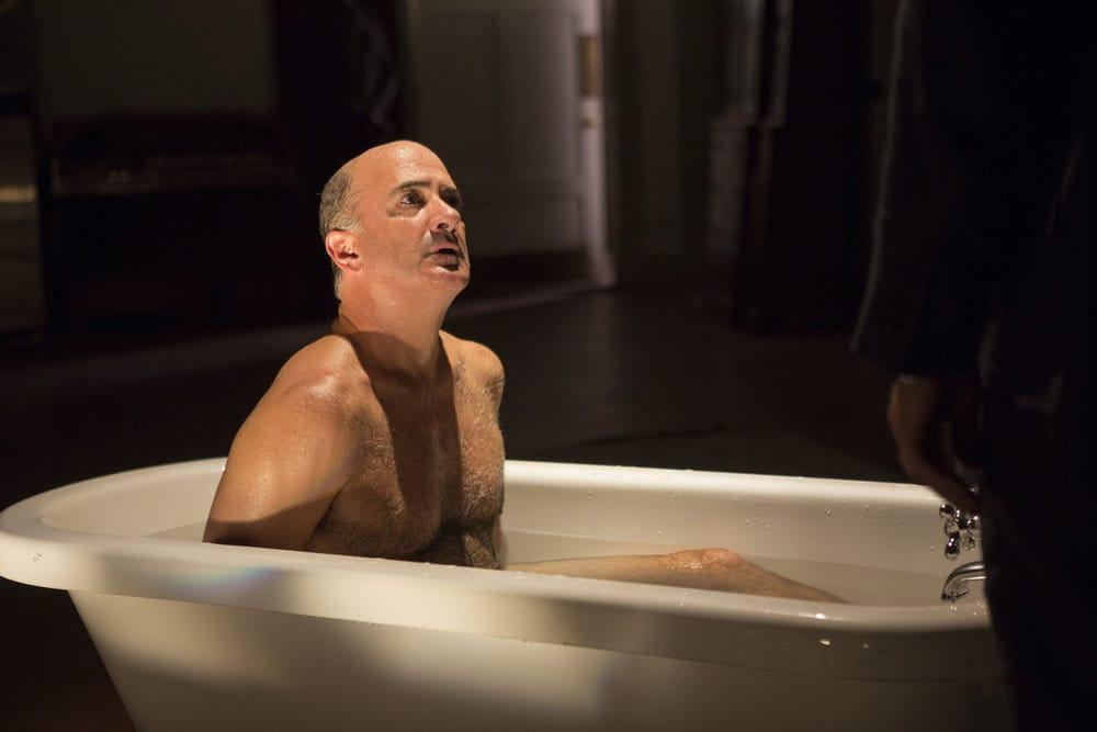 """THE BLACKLIST -- """"The Lindquist Concern #105"""" Episode 405 -- Pictured: Matt Servitto as Dr. Sebastian Reifler -- (Photo by: Eric Liebowitz/NBC)"""