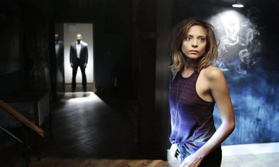 "FALLING WATER -- ""Pilot"" Episode 101 -- Pictured: Lizzie Brochere as Tess -- (Photo by: Giovanni Rufino/USA Network)"