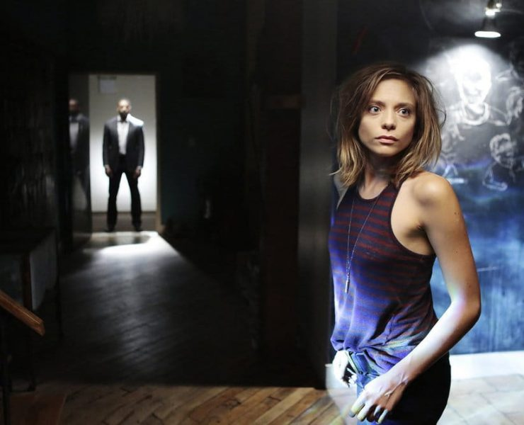 """FALLING WATER -- """"Pilot"""" Episode 101 -- Pictured: Lizzie Brochere as Tess -- (Photo by: Giovanni Rufino/USA Network)"""