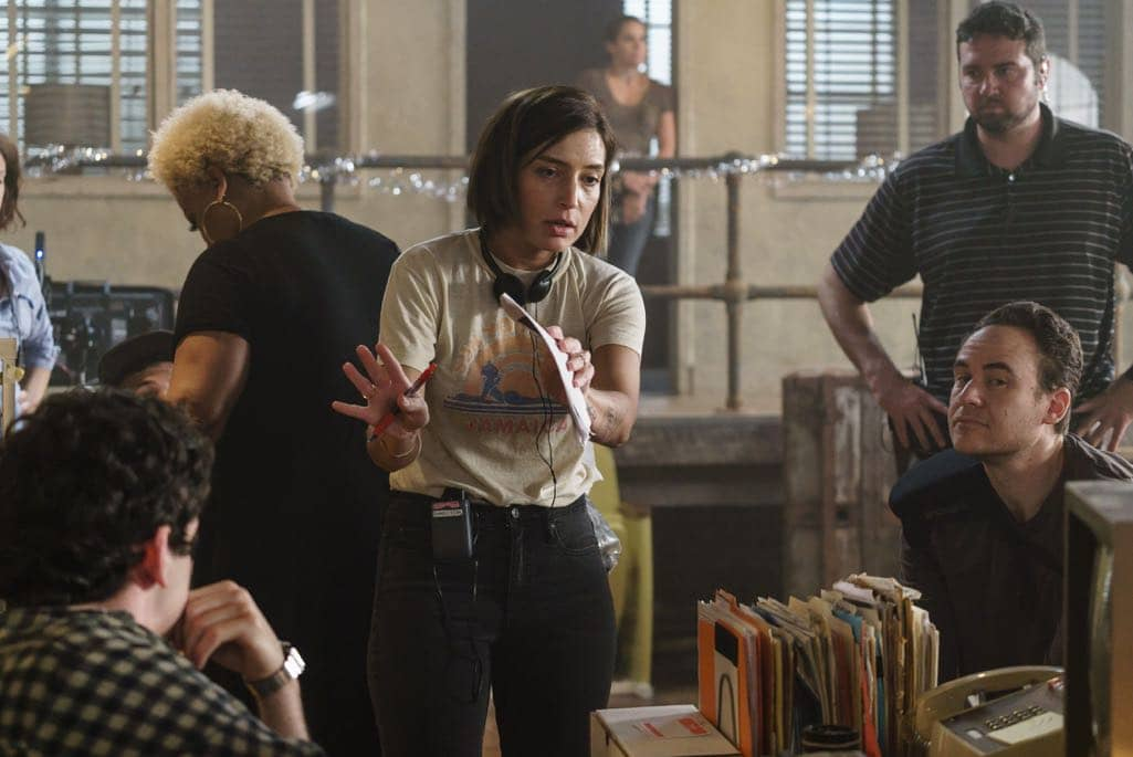 BTS, Director Reed Morano - Halt and Catch Fire _ Season 3, Episode 8  - Photo Credit: Tina Rowden/AMC