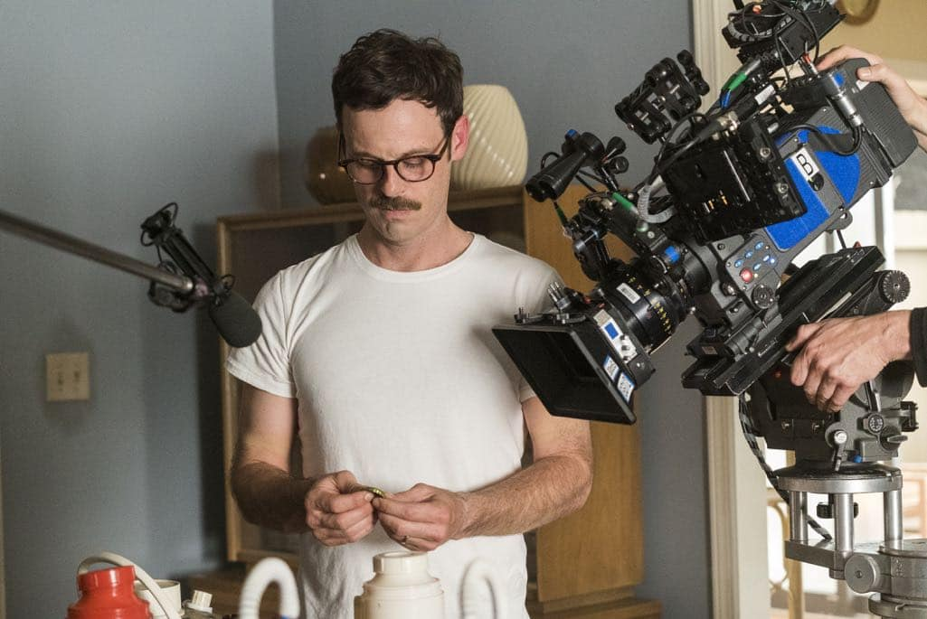 BTS, Scoot McNairy as Gordon Clark- Halt and Catch Fire _ Season 3, Episode 5  - Photo Credit: Tina Rowden/AMC