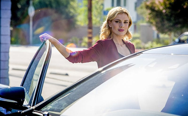 """Ghost Gun"" -- Pictured: Anna Kolcheck (Bar Paly). The murder of a Navy Machinist with high security clearance sends the team on a city-wide hunt tracking evidence. Also, Anna Kolcheck (Bar Paly) partners with Callen, and Sam assists Hetty in the on-going mole investigation, on NCIS: LOS ANGELES, Sunday, Oct. 23 (8:30-9:30 PM, ET/8:00-9:00 PM, PT), on the CBS Television Network. Photo: Erik Voake/CBS ©2016 CBS Broadcasting, Inc. All Rights Reserved."