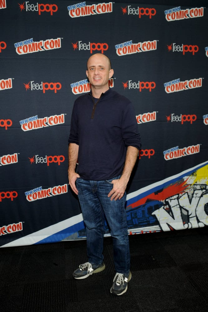 "NEW YORK COMIC CON 2016 -- ""Timeless"" Press Room -- Pictured: Executive Producer Eric Kripke on Sunday, October 9, 2016 from the Javits Center in New York, NY -- (Photo by: Brad Barket/NBC)"