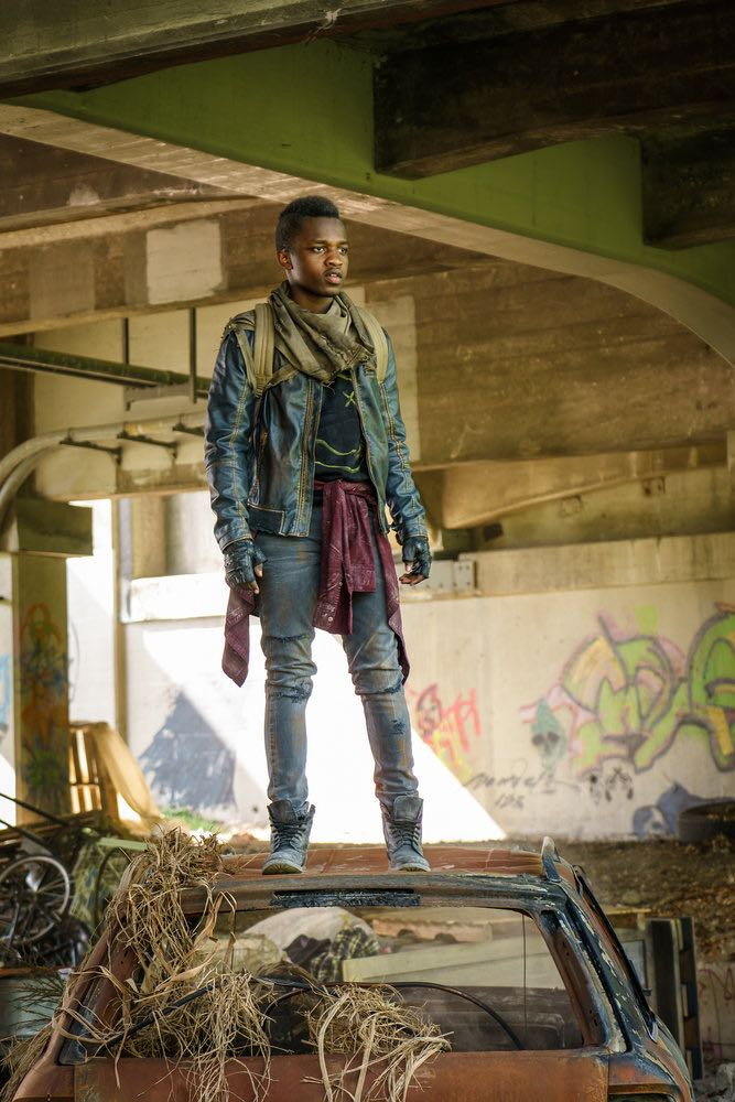 """VAN HELSING -- """"Coming Back"""" Episode 104 -- Pictured: Trezzo Mahoro as Mohamed -- (Photo by: Dan Power/Helsing S1 Productions/Syfy)"""