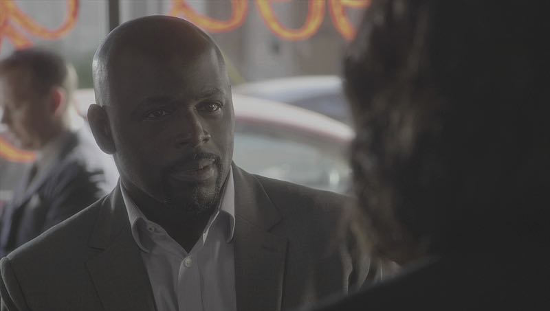 """""""Mirror Image"""" -- The BAU team opens an investigation when a man who fully believes he's Dr. Tara Lewis' (Aisha Tyler) brother arrives in town, knowing everything about her and her family, and she is unable to make contact with her real sibling, on CRIMINAL MINDS, Wednesday, Nov. 30 (9:00-10:00 PM, ET/PT), on the CBS Television Network. Series star Joe Mantegna directed the episode. Pictured: Alimi Ballard (Desmond Holt) Photo: CBS ©2016 CBS Broadcasting, Inc. All Rights Reserved"""