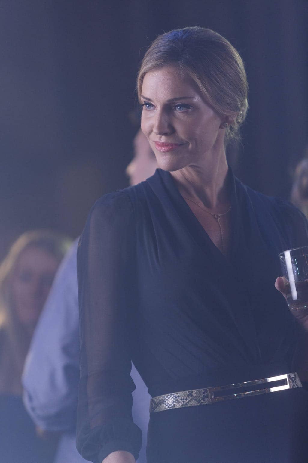 """LUCIFER: Tricia Helfer in the """"Homewrecker"""" episode of LUCIFER airing Monday, Nov. 21 (9:01-10:00 PM ET/PT) on FOX. ©2016 Fox Broadcasting Co. Cr: Michael Courtney/FOX."""
