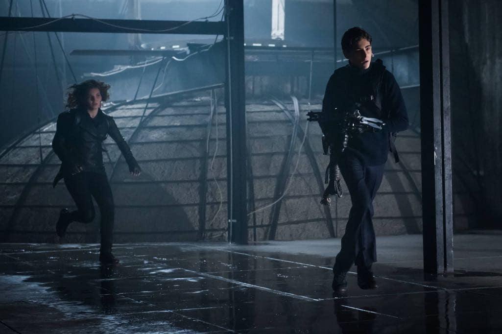 "GOTHAM: L-R: Camren Bicondova and David Mazouz in the ""Mad City: Beware the Green-Eyed Monster"" episode of GOTHAM airing Monday, Nov. 28 (8:00-9:01 PM ET/PT) on FOX. Cr: Jeff Neumann/FOX."