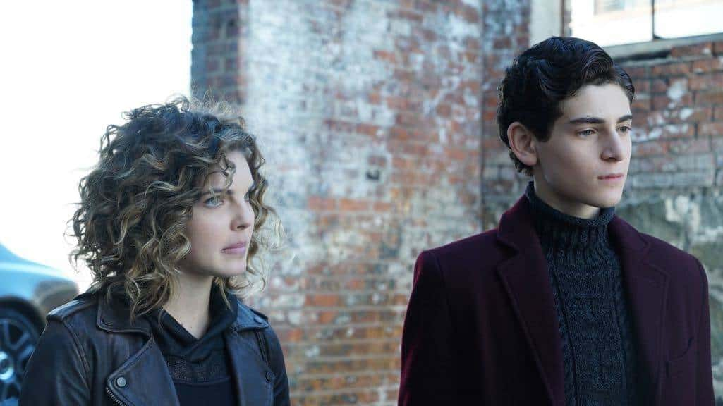 "GOTHAM: L-R: Camren Bicondova and David Mazouz in the ""Mad City: Time Bomb"" episode of GOTHAM airing Monday, Nov. 21 (8:00-9:01 PM ET/PT) on FOX. Cr: FOX."