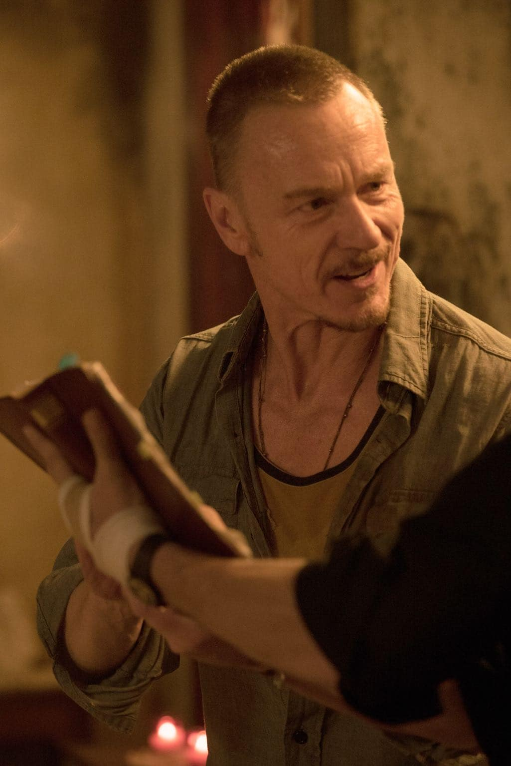 "THE EXORCIST: Ben Daniels in the ""Chapter Eight: The Griefbearers"" episode of THE EXORCIST airing Friday, Nov. 18 (9:01-10:00 PM ET/PT) on FOX. ©2016 Fox Broadcasting Co. Cr: Jean Whiteside/FOX"