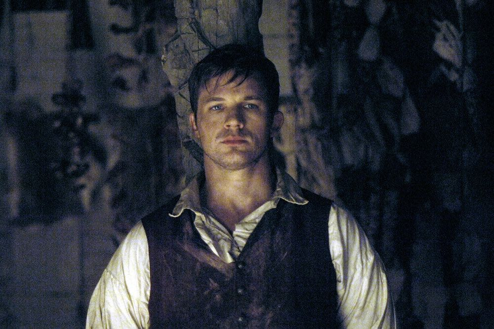 "TIMELESS -- ""Stranded"" Episode 106 -- Pictured: Matt Lanter as Wyatt Logan -- (Photo by: Sergei Bachlakov/NBC)"