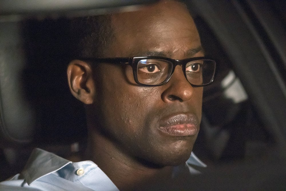 "THIS IS US -- ""The Best Washing Machine in the Whole World "" Episode 107 -- Pictured: Sterling K. Brown as Randall -- (Photo by: Ron Batzdorff/NBC)"