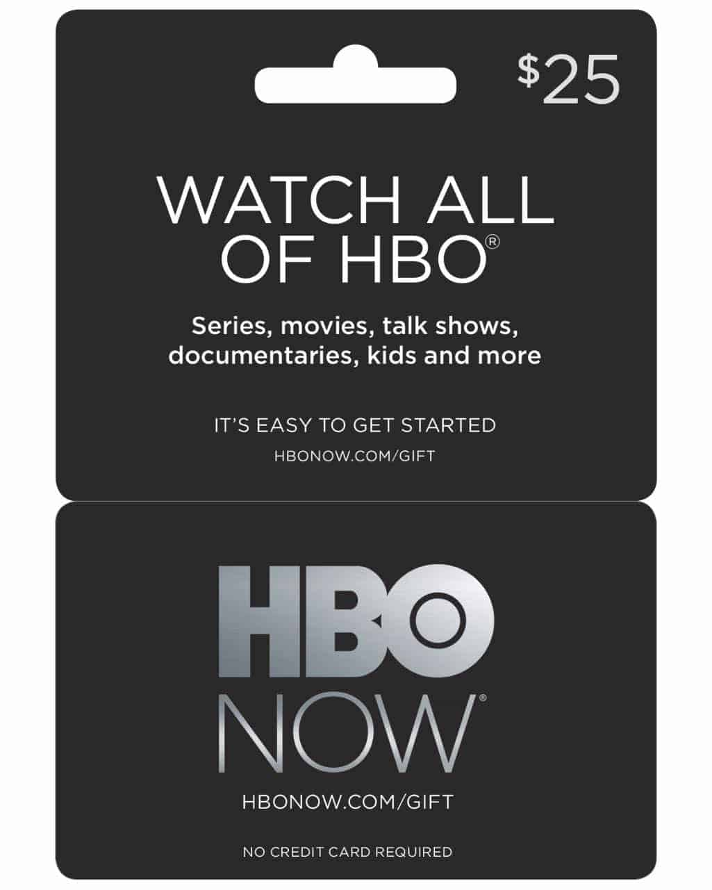 HBO NOW Gift Cards Available Now | SEAT42F
