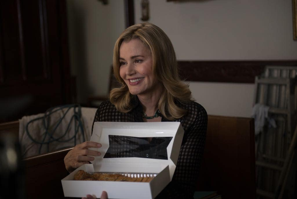 "THE EXORCIST: Geena Davis in the ""Chapter Nine: 162"" episode of THE EXORCIST airing Friday, Dec. 9 (9:01-10:00 PM ET/PT) on FOX. ©2016 Fox Broadcasting Co. Cr: Jean Whiteside/FOX"