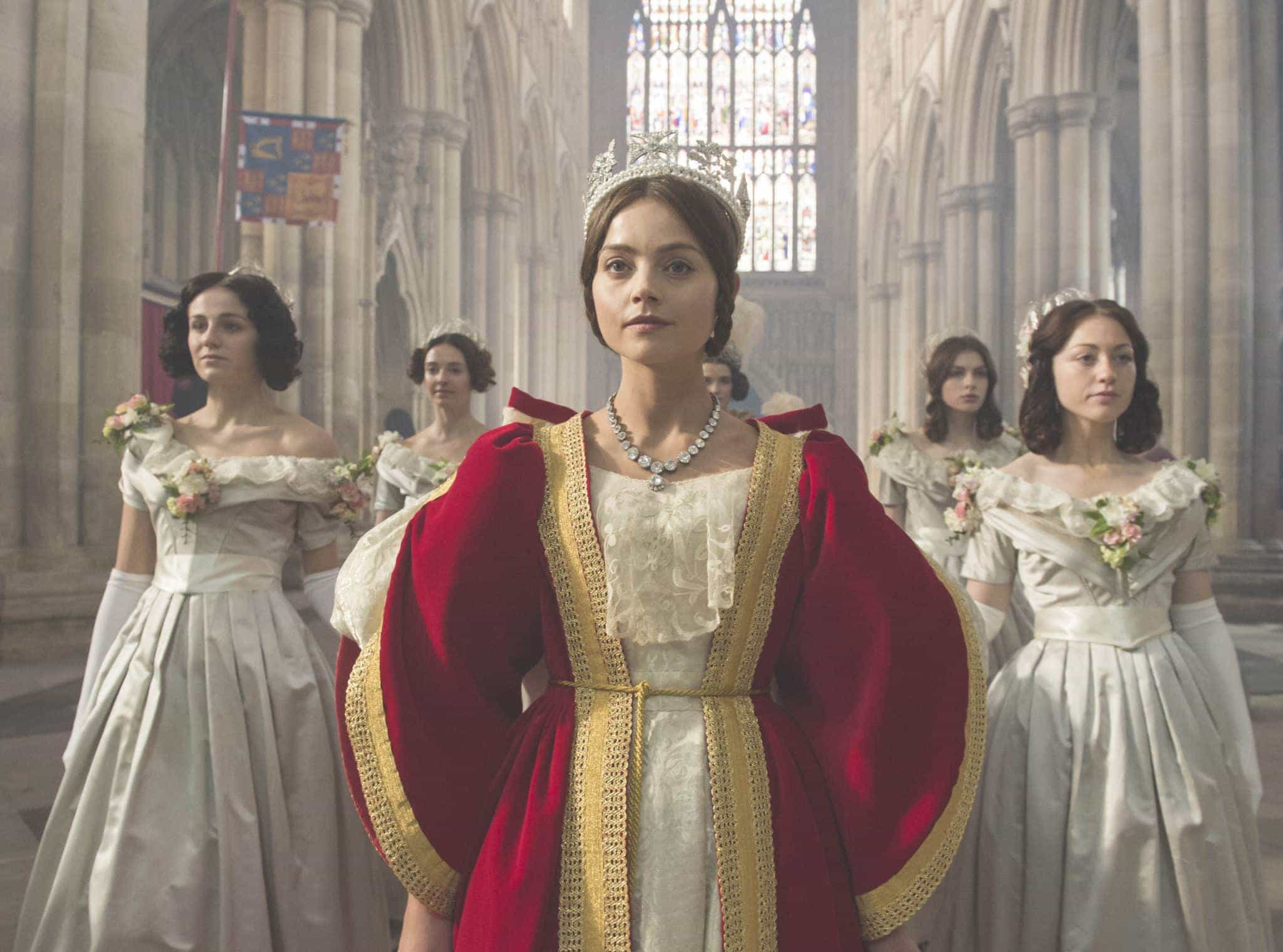 MASTERPIECE VICTORIA Shown: JENNA COLEMAN as Victoria (C) ITV Plc for MASTERPIECE This image may be used only in the direct promotion of MASTERPIECE CLASSIC.