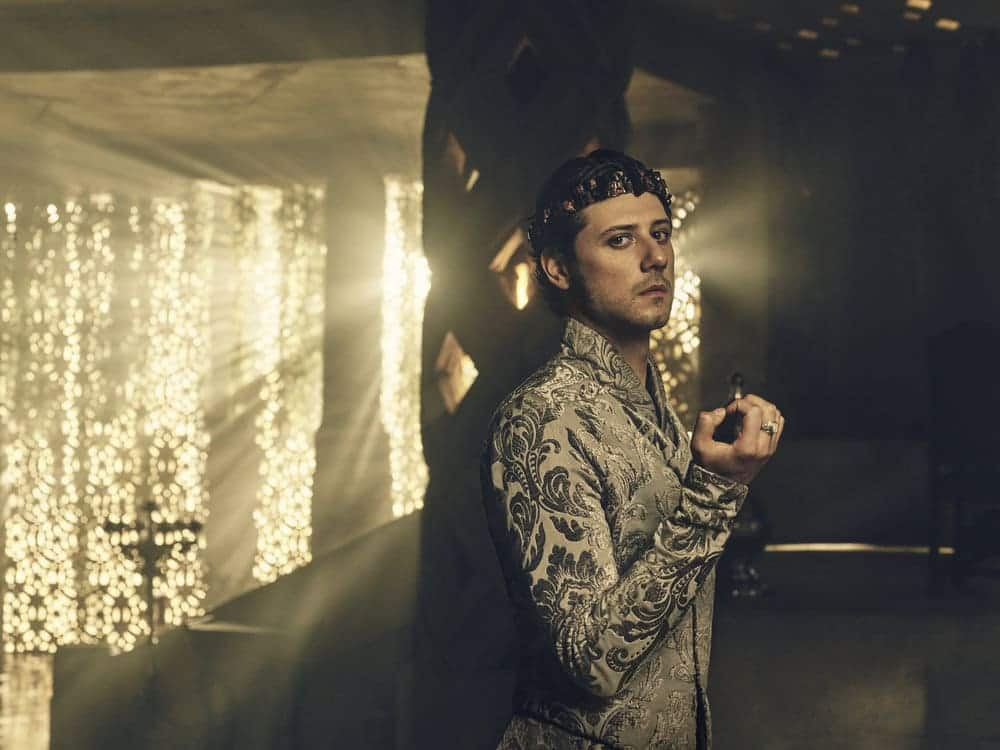 THE MAGICIANS -- Season:2 -- Pictured: Hale Appleman as Eliot -- (Photo by: Jason Bell/Syfy)