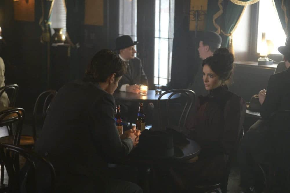 """TIMELESS -- """"The World's Columbian Exposition"""" Episode 111 -- Pictured: Abigail Spencer as Lucy Preston"""