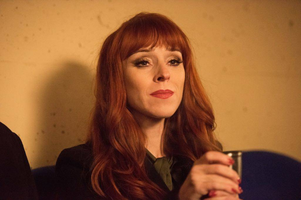 """Supernatural --""""Family Feud""""-- SN1213a_0420.jpg -- Pictured: Ruth Connell as Rowena"""