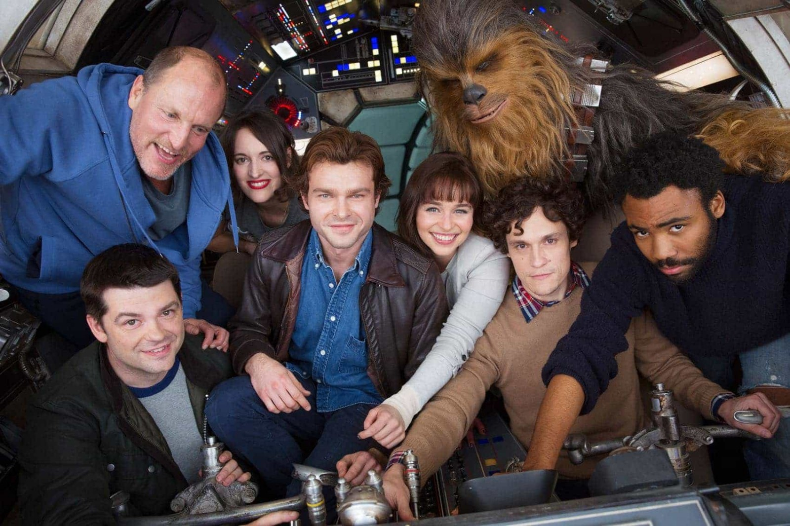 HAN SOLO A New STAR WARS Story Begins Production
