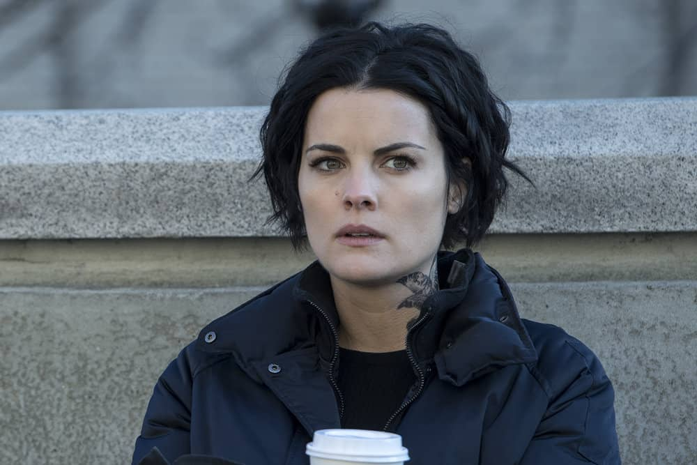 "BLINDSPOT -- ""Evil Did I Dwell, Lewd Did I Live"" Episode 216 -- Pictured: Jaimie Alexander as Jane Doe"