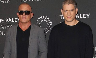Dominic Purcell and Wentworth Miller at PaleyLive 2017 Prison Break