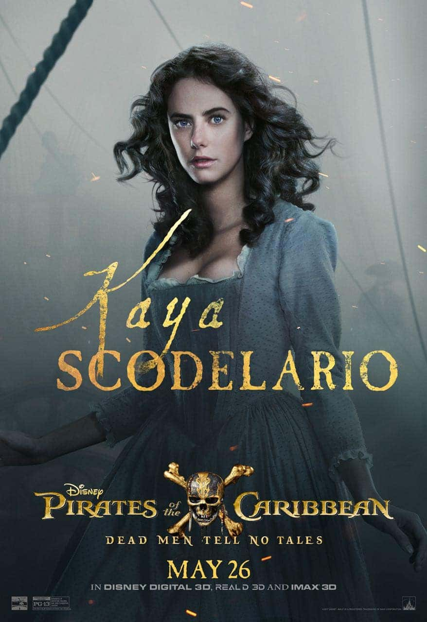 Pirates of the Caribbean: Dead Men Tell No Tales Kaya Scodelario Poster