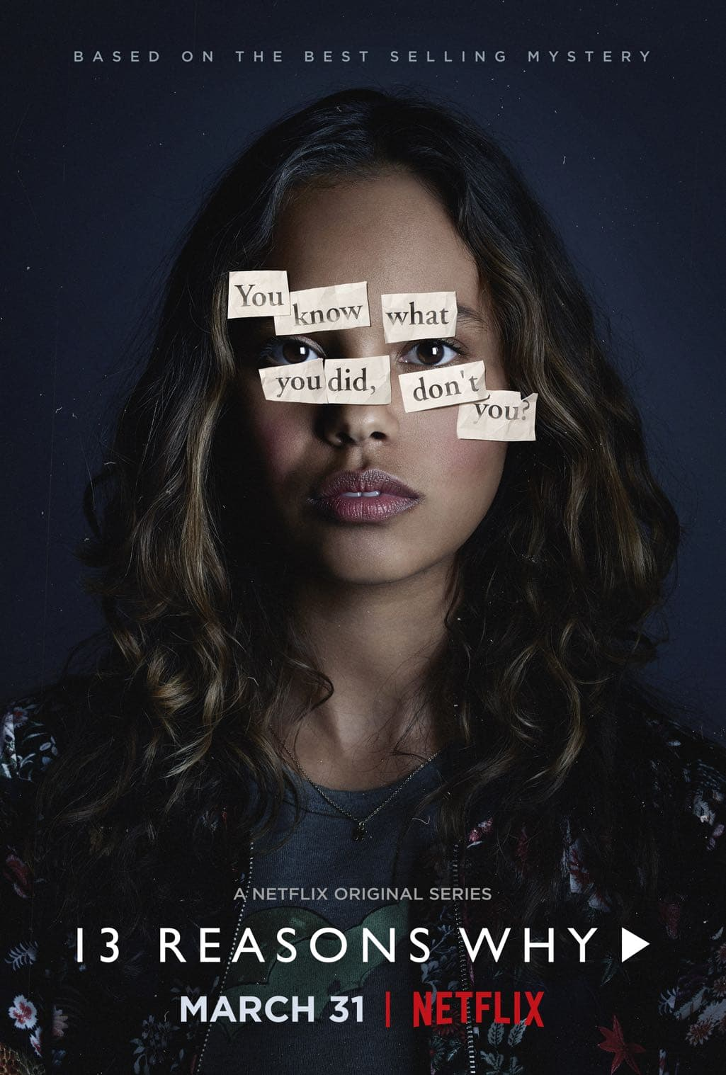 13 Reasons Why Character Poster Alisha Boe as Jessica Davis