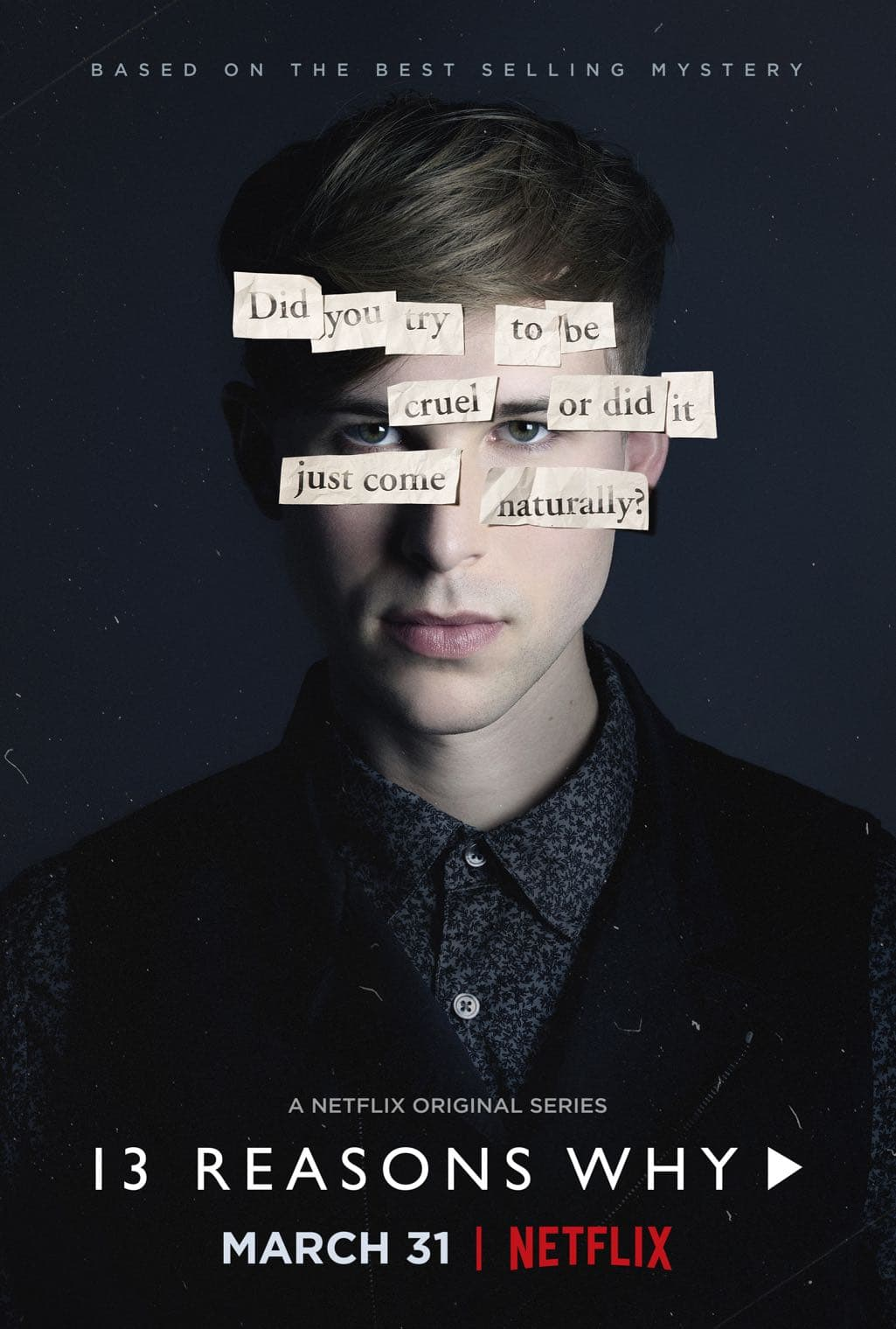 13 Reasons Why Character Poster Tommy Dorfman as Ryan Shaver