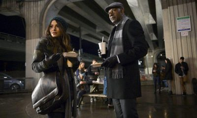 REVERIE -- Pilot -- Pictured: (l-r) Sarah Shahi as Mara Knit, Dennis Haysbert as Charlie Ventana -- (Photo by: Sergei Bachlakov/NBC)