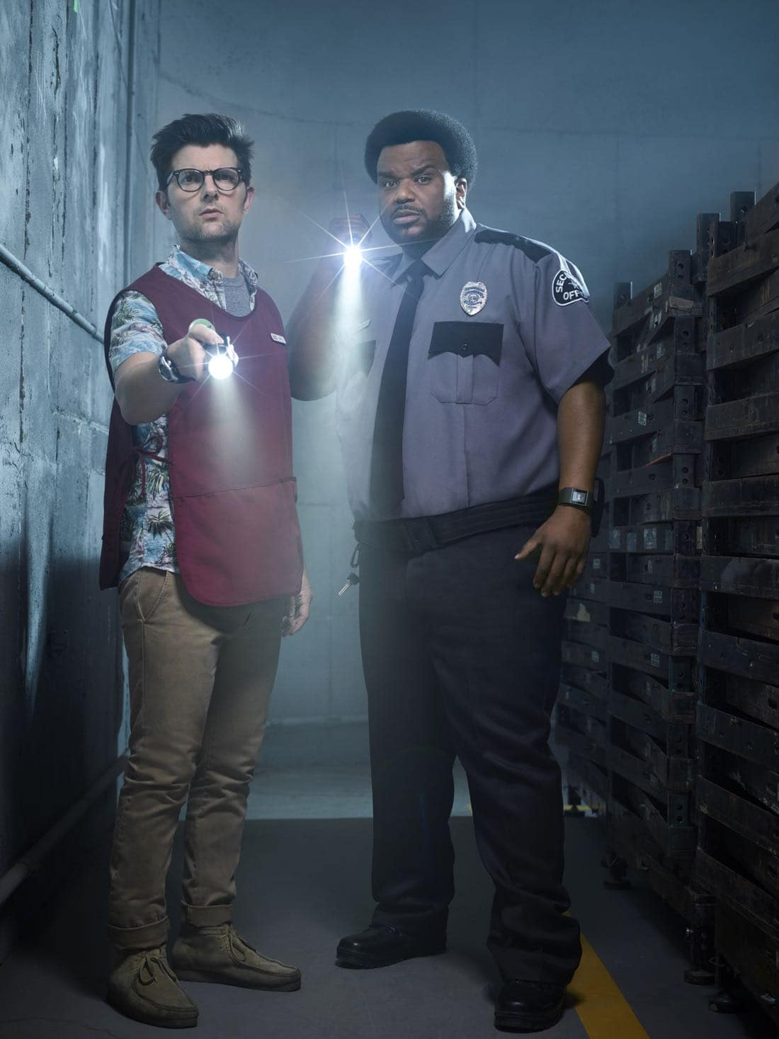 GHOSTED: L-R: Adam Scott and Craig Robinson in GHOSTED premiering this fall on FOX.<br />