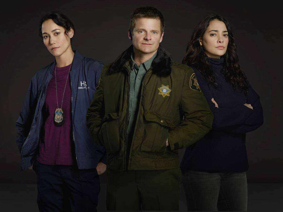"THE CROSSING - ABC's ""The Crossing"" stars Sandrine Holt as Emma, Steve Zahn as Jude and Natalie Martinez as Reece. (ABC/Bob D'Amico)THE CROSSING - ABC's ""The Crossing"" stars Sandrine Holt as Emma, Steve Zahn as Jude and Natalie Martinez as Reece. (ABC/Bob D'Amico)"