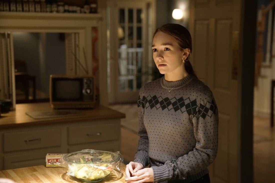 """THE AMERICANS -- """"The World Council of Churches"""" -- Season 5, Episode 12 (Airs Tuesday, May 23, 10:00 pm/ep) -- Pictured: Holly Taylor as Paige Jennings. CR: Patrick Harbron/FX"""