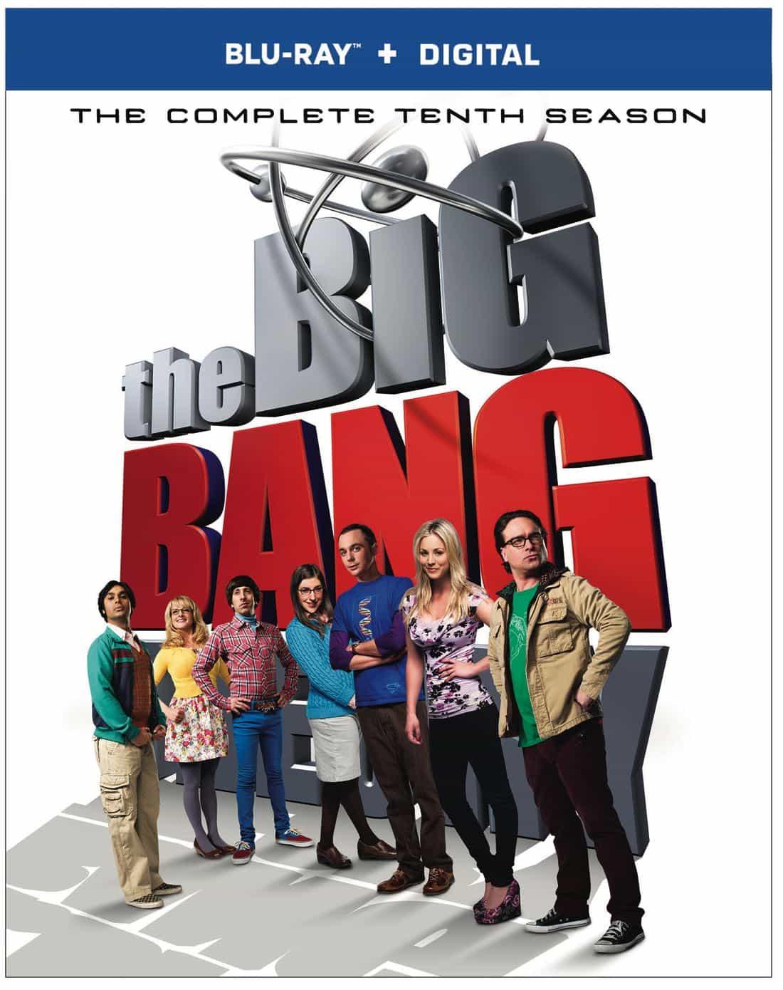 THE BIG BANG THEORY Season 10 Bluray