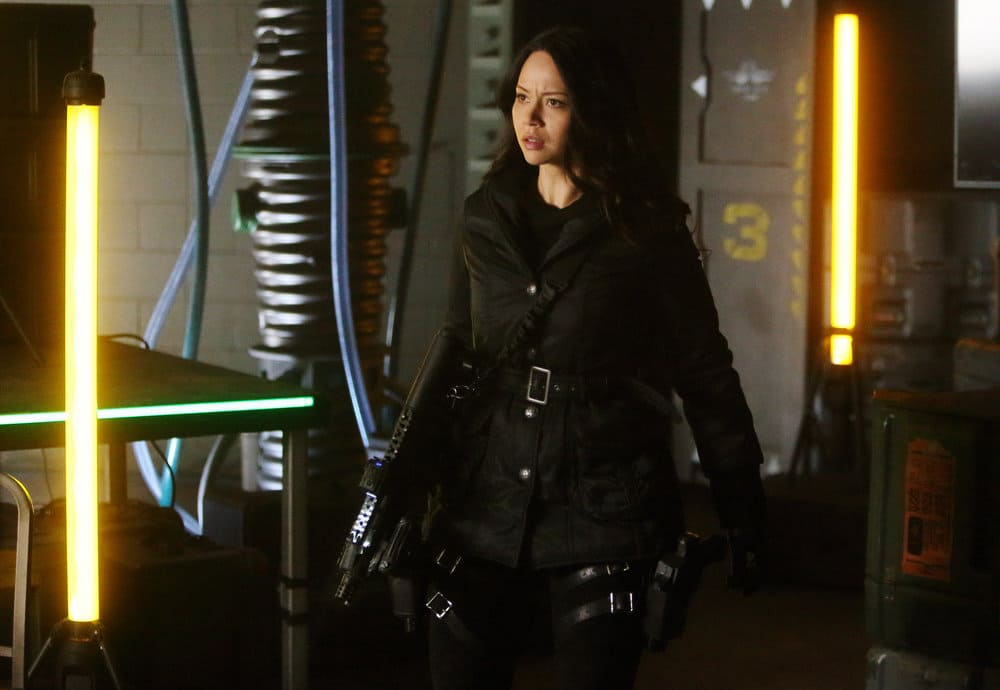 """DARK MATTER -- """"Welcome To The Revolution"""" Episode 303 -- Pictured: Melissa O'Neil as Two"""